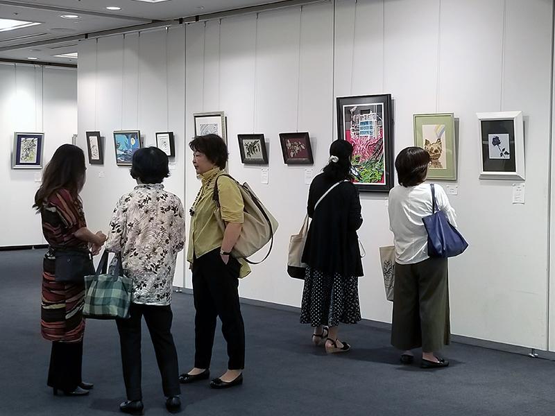 全国彫紙アート展2019会場風景(大田区蒲田)